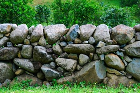 When You Stare at Stones Walls